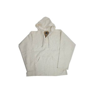 【EARTH RAGZ】Mexican Parka WHITE Made in MEXICO (アースラグズ メキシカンパーカー ホワイト/ブラック メキシコ製)