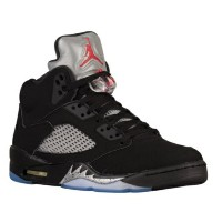 "Jordan 5 V Retro OG ""Black Metallic"" メンズ Black/Fire Red/Metallic Silver/White ジョーダン バッシュ"