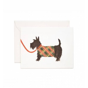 RIFLE PAPER CO. | SCOTTISH TERRIER | グリーティングカード | ドッグ