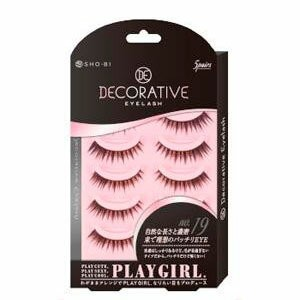 DECORATIVE EYELASH PLAY GIRL 上まつ毛用 No.19 SE85551