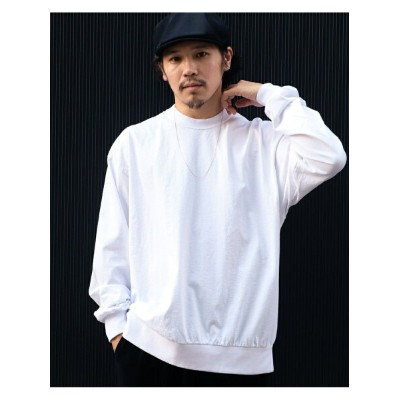 BEAMS T HEAVYWEIGHT COLLECTIONS / Solid Long Sleeve Tee ビームスT カットソー【送料無料】
