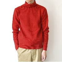 ANDERSEN-ANDERSEN(アンデルセン アンデルセン)/SAILOR SWEATER TURTLE NECK(7Gauge) -RED- 【H】