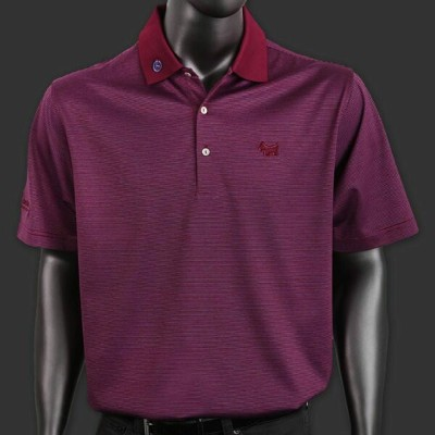 スコッティーキャメロン ポロシャツ Scotty Cameron「Peter Millar SS - Finchs Stripe - Tomato」Polo ポロ