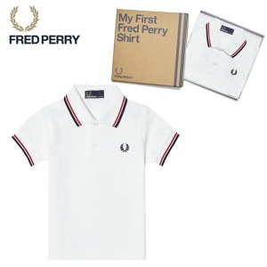 FRED PERRY フレッドペリー MY First Fred Perry Shirt SY1225 ポロシャツ シャツ 半袖 トップス ブランド キッズ kids ベビー 子供服 ベビー服...