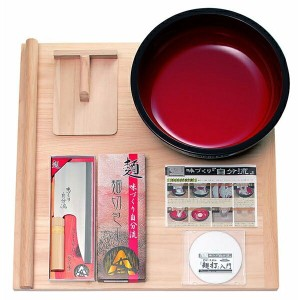A-1230 豊稔 家庭用麺打ちセットA(そば・うどんDVD付き) [A1230]【返品種別A】