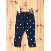 【SALE/35%OFF】X-girl Stages LONG PANT STAR EMBROIDERY(12M~3T) エックスガールステージス パンツ/ジーンズ【RBA_S】【RBA_E】...