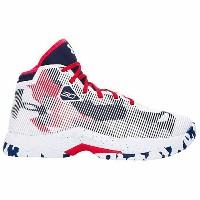 """Under Armour アンダーアーマー Curry 2.5 """"USA Home"""" (GS) カリー 1274062-107 バスケットボール シューズ バッシュ キッズ 取り寄せ商品"""