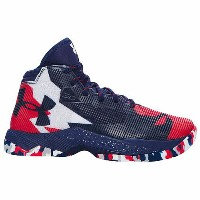 "Under Armour アンダーアーマー Curry 2.5 ""USA Away"" (GS) カリー 1274062-411 バスケットボール シューズ バッシュ キッズ 取り寄せ商品"