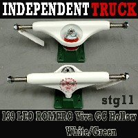 値下げしました!INDEPENDENT/インデペンデントトラック139 STAGE11 ROMERO GC HOLLOW WHITE DARK GREEN TRUCKS STANDARD INDY...