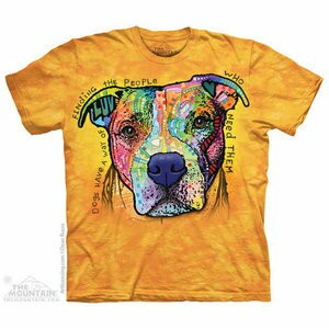 The Mountain Tシャツ Dean Russo Dogs Have A Way (Dean Russo イヌ メンズ レディース 男女兼用) 2L-4L 【輸入品】 大きいサイズ 半袖...