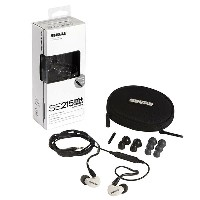 SHURE SE215m+ Special Edition (SE215m+SPE-A ホワイト) 【安心の正規輸入品】 【1年保証+ユーザー登録後6ヶ月延長保証】