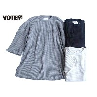 ★SALE 30%OFF★ VOTE Make New Clothes ヴォート メイク ニュー クローズ WIDE SLEEVE HEAVY THERMAL ワイド スリーブ ヘビー サーマル