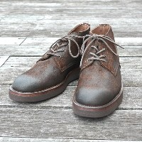 MOTO(モト)/5 inches Lace-Up Boots(Velours) -BROWN-【別注】