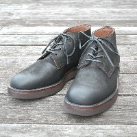 MOTO(モト)/5 inches Lace-Up Boots(Velours) -BLACK-