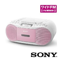 SONY / CDカセットレコーダー / ピンク [CFD-S70-PC]