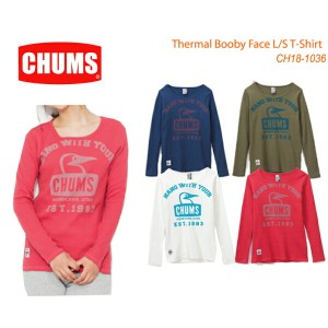 CHUMS チャムス CH18-1036 Thermal Booby Face L/S T-Shirt 長袖ブービーフェイスTシャツ  ※取り寄せ品
