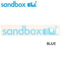 SANDBOX サンドボックス 10'LONG STICKERS/BLUE