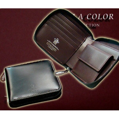 ○ETTINGER / エッティンガー ■VIOLA COLOR Collection ●ZIPPED WALLET 4C/C & COIN PURSE ( ジップウォレット4C/カード...