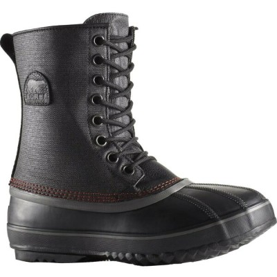 ソレル Sorel メンズ スノー シューズ・靴【1964 Premium T Canvas Boot】Black/Sail Red