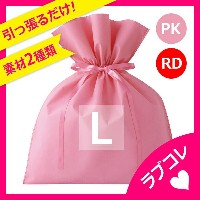 RACE レイス ギフトバッグ (Lサイズ) ラッピング 袋 ラッピング用品 ギフトラッピング りぼん リボン 包装【メイク キッズコスメ メイクセット こども メイクセット 子供 化粧 メイク...
