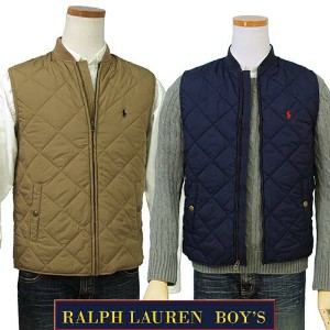 POLO by Ralph Lauren Boy'sキルトベスト【2016-Fall/NewColor】【ラルフローレン ボーイズ】【送料無料】