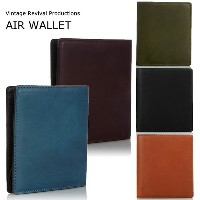 折財布 Vintage Revival Productions 軽量 レザー 二つ折り財布:wallet-ya-4164911