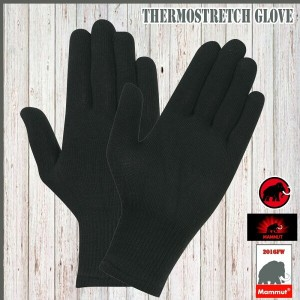 MAMMUT(マムート) Thermostretch Glove カラー:0001 (MMTBGN)(decsale)(mmt)