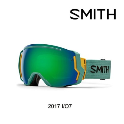 2017 SMITH スミス ゴーグル GOGGLE I/O7 RANGER SCOUT/GREEN SOL-X MIRROR+RED SENSOR MIRROR ASIAN FIT