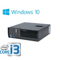 中古パソコン DELL Optiplex 790SF Core i3 2100 3.1Ghz メモリ8GB 新品SSD240GB+HDD新品1TB DVD-ROM Windows10 Home...