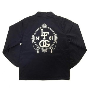 LA FAMILIA ORIGINAL ラファミリア CHRONIC COACH JACKET NAVY