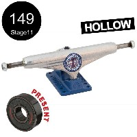 【INDEPENDENT インディペンデント】149 HOLLOW GRANT TAYLOR SILVER/BLUE STANDARD TRUCKS(Stage11)トラック グラント・テイラー...