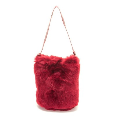 [Rakuten BRAND AVENUE]【SALE/40%OFF】FUR BUCKET TOTE X-girl エックスガール バッグ【RBA_S】【RBA_E】【送料無料】