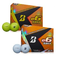 Bridgestone e6 SOFT Straight Distance Golf Balls【ゴルフ ボール】