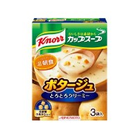 Knorr クノール カップスープ ポタージュ 1箱(3袋入り)×10箱