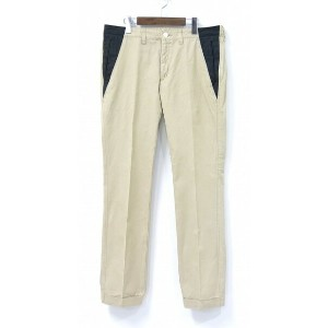 【中古】 MACKDADDY (マックダディー) 2TONE CHINO PANTS 2トーンチノパンツ ツートン 36 EXCHANGE CHINO PANTS