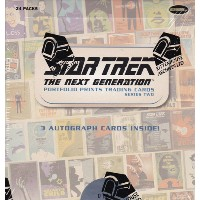 スタートレック Rittenhouse 2016 Star Trek The Next Generation :Portfolio Prints Trading Cards Series 2...