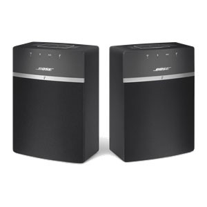 SOUNDTOUCH10BLK ボーズ Wi-Fi/Bluetooth対応ワイヤレススピーカー(ブラック) BOSE SoundTouch 10 Series wireless music...