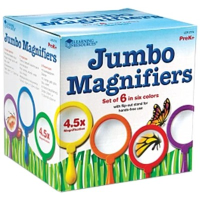 ラーニング リソーシーズ Learning Resources Primary Science Jumbo Magnifiers, Set of 6 LER 2774 キッズ