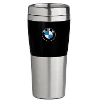 BMW Travel Mug with Black Band - 14oz 並行輸入
