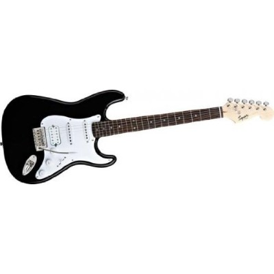 Squier by Fender スクワイア エレキギター Bullet Strat HSS with Tremolo BLK 【並行輸入品】