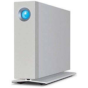 エレコム 外付HDD 6TB[Thunderbolt2/USB3.0・Mac/Win] D2 Thunderbolt2 シルバー LaCie LCH-D2F060TB2UG