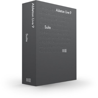 ABLETON DAW Live9 Suite UG from Intro/LE