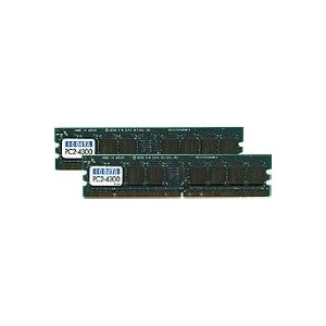 I-O DATA DX533-512Mx2 PC2-4200対応 増設DDR2メモリ DX533-512MX2