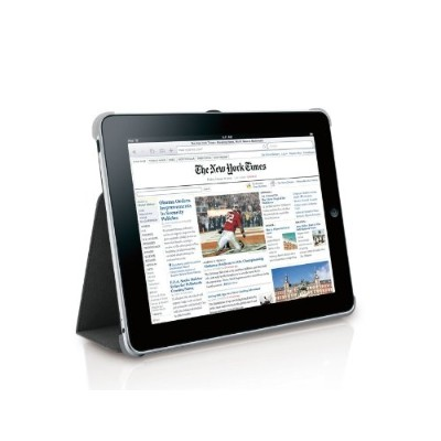 BookStand Slim Case for iPad Grey