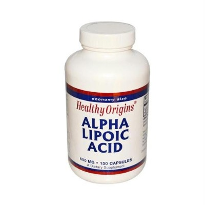 Healthy Origins / ヘルシーオリジン / Healthy Origins Alpha Lipoic Acid - 600 mg - 150カプセル