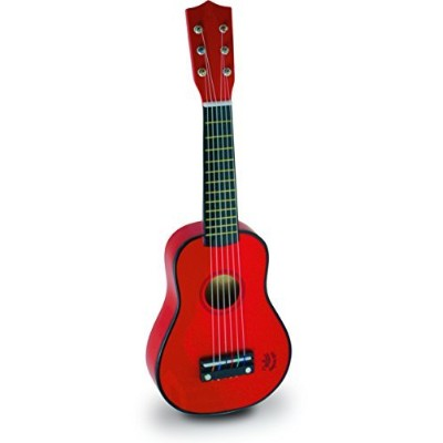 Vilac Baby Guitar Musical Toy, Red Children's by Vilac [並行輸入品]