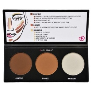 CITY COLOR Contour Effects - Contour/Blush/Highlight (並行輸入品)