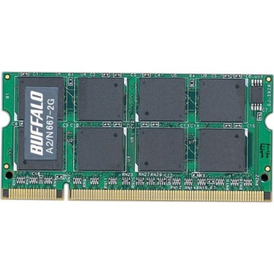 BUFFALO DDR2PC2-5300SO-DIMM2GB A2/N667-2G