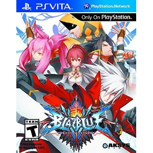BlazBlue: Chrono Phantasma (輸入版:北米) - PS Vita