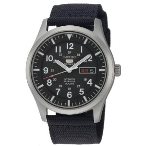 時計 SEIKO セイコー 5 SPORTS Automatic made in Japan Black Dial Nylon Strap Watch SNZG15J1 Men's メンズ 男性用 ...